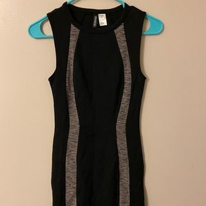 Brand new H&M black body con dress size 2